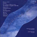 On the Wings of English Melody - works for clarinet & piano (CD)