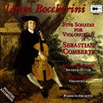 Boccherini: Sonatas for Cello and Continuo (CD)
