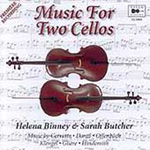 Music for Cello Duo (CD)