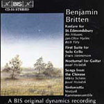 Britten: Miscellaneous works (CD)