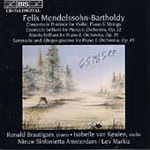 Produktbilde for Mendelssohn: Orchestral Works (CD)