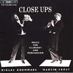 Close Ups-Music for Clarinet and Percussion (CD)