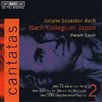 Bach: Cantatas, Vol. 2 (CD)