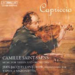 Saint-Saëns: Works for Violin & orchestra (CD)