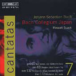 Bach: Cantatas, Vol. 7 (CD)