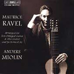 Ravel: Piano Works transcribed for Guitar (CD)