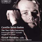 Saint-Saëns: Cello Concertos; Symphony in A; Romance (CD)