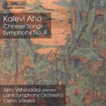 Aho: Symphony 4 & Chinese Songs (CD)