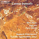 Cantus borealis - Wind Music from the Faroe Islands (CD)