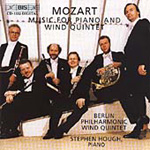 Mozart: Works for Piano and Wind Quintet (CD)