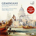 Geminiani: Concerti Grossi Nos 7 - 12, After Corelli (CD)