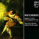 Boccherini: Guitar Quintets 1,2 & 3 (CD)