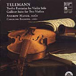 Telemann: Fantasias for Solo Violin (CD)
