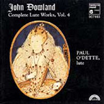 Dowland: Lute Works, Volume 4 (CD)