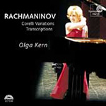 Rachmaninov: Corelli Variations; Piano Transcriptions (CD)