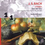 Bach: Cello Suites, transc recorder (CD)
