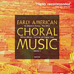 Early American Choral Music (CD)