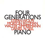 Feldman/Wolpe/W Zimmermann: Four Generations (CD)