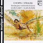 Chopin/R. Strauss: Cello Sonatas (CD)