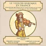The Baroque Violin in France (CD)