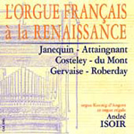 French Renaissance Organ Music (CD)