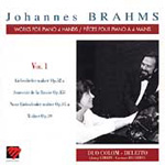 Brahms: Works for Piano Four Hands, Vol 1 (CD)