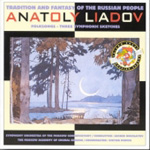 Liadov: Three Symphonic Sketches; Russian Folksongs (CD)