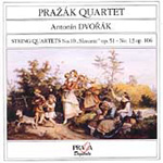 Dvorák: String Quartets Nos 10 & 13 (CD)