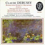 Debussy: Dance for Harp and Orchestra (CD)