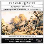 Dvorák: String Quartet No 12; Bagatelles; Terzetto (CD)