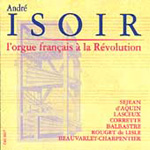 French Organ Music under the Revolution (CD)