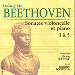 Beethoven: Sonatas for Cello and Piano (CD)