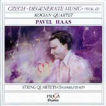 Haas: String Quartets (CD)