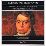 Beethoven: String Quartets Nos 9 & 10 (CD)