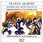 Beethoven: String Quartets 15 & 16 (CD)