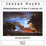 Haydn: String Quartets Op. 77, Nos. 1-2 and Op. 103, in D minor (CD)