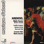 Handel: Giulio Cesare - Excerpts (CD)