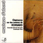 Songs on Poems by Pierre de Ronsard (CD)