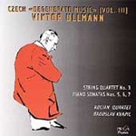 Ullmann: String Quartet No 3 Op 46; Piano Sonatas (CD)