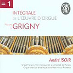 Grigny: Organ Works Vol 1 (CD)