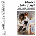 Brahms: Sextet No 1 (CD)