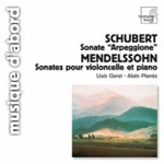 Mendelssohn: Sonata for Cello and Piano; Schubert: Sonate 'Arpeggione' (CD)
