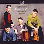 Shostakovich: String Quartets Nos 1, 4 and 9 (CD)