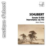 Schubert: Piano Sonata No 20, D959; (4) Impromptus, D935 (CD)