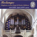 Meslanges - Pérotin to Balbastre (CD)