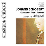 Schobert: Sonatas for Keyboard and Violin (CD)