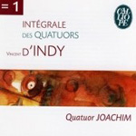 D'Indy: String Quartets (CD)