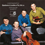 Shostakovich: String Quartets Nos 6, 8 & 11 (CD)