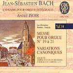 Bach: Complete Works for Organ Vol 14 (CD)