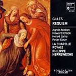 Gilles: Requiem (CD)